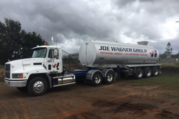 Semi Water Tanker